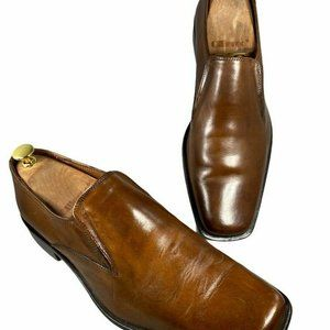 Michael Shannon Mens Brown Leather Size 10.5M